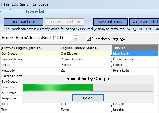 Using Google to Translate
