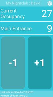 Screenshot visitor counter app conter screen